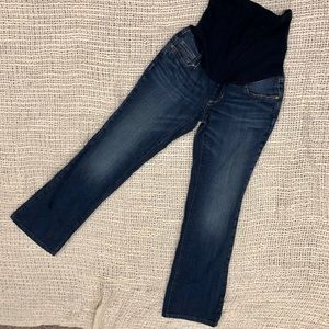 Maternity jeans full panel size XS